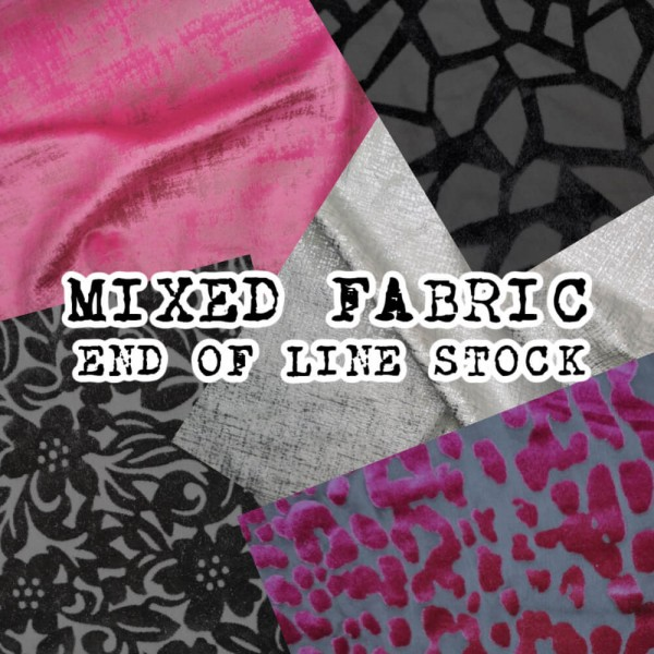 Mixed Fabric End Of Line Stock