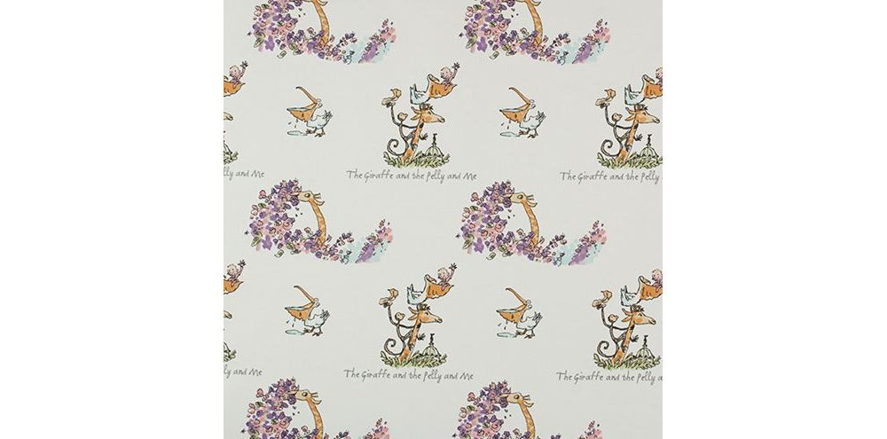 Roald Dahl Chocolate100% Cotton Fabric