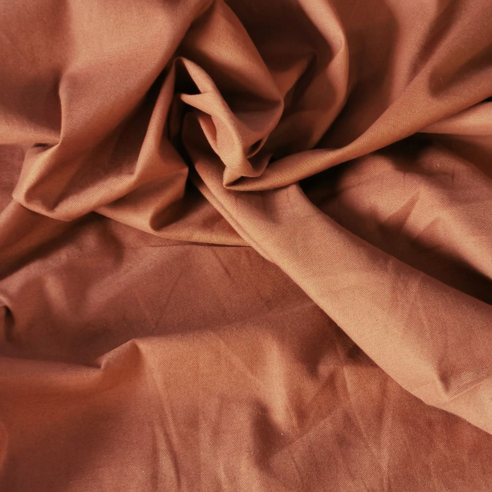Plain Polyester Twill Fabric 150cm Wide Dressmaking Material