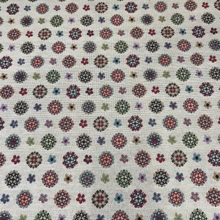 New World Tapestry Fabric Petals 140cm