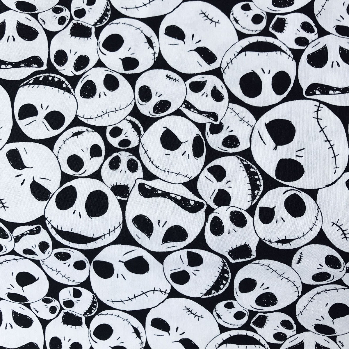 Disney Fabric - Nightmare Before Christmas Fabric (Jack Skellington ...