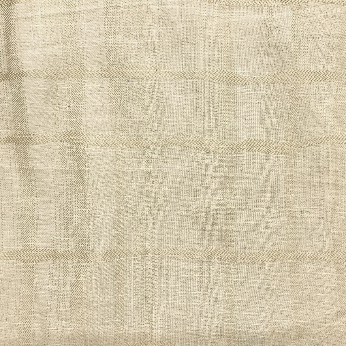 Cream Canvas Cotton Curtain//Upholstery//Craft Fabric