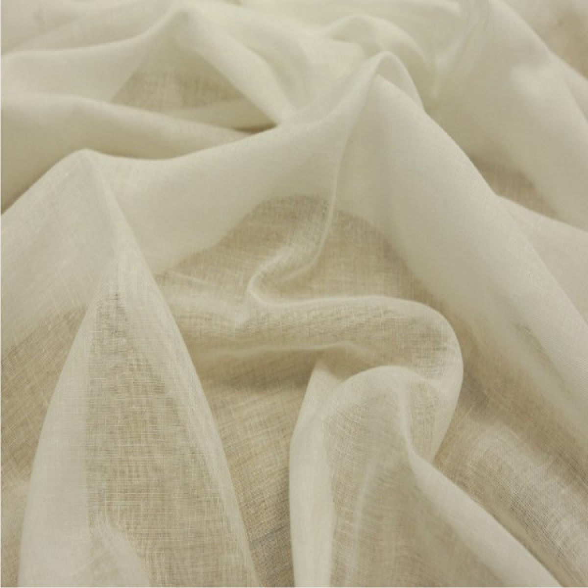 Ivory Egyptian Draping Muslin Cheese Cloth 100 Cotton 150cm