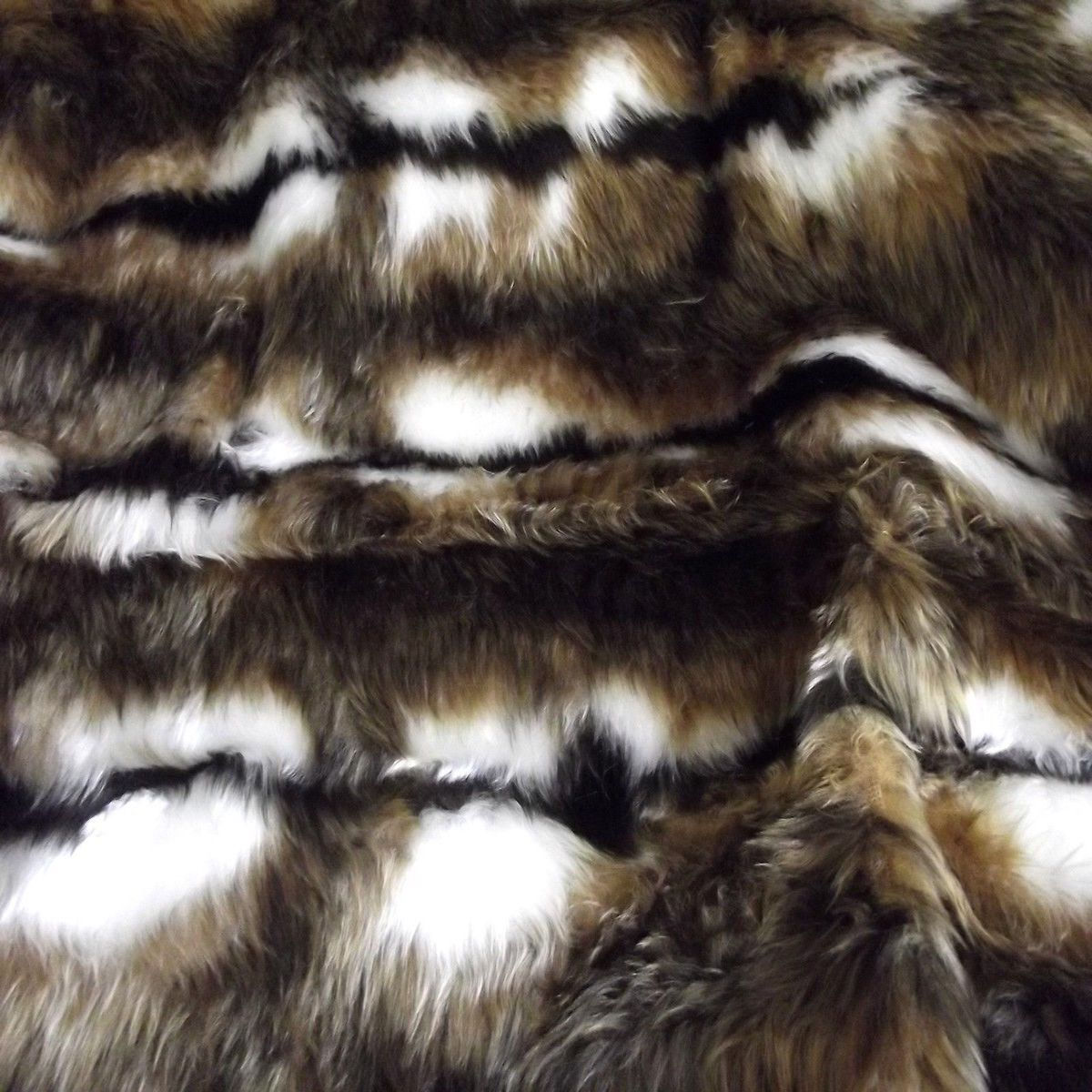 "Is Neoprene Waterproof >> Reindeer Fur Fabric 60"" 150cm wide Animal Print Short Pile 20mm Soft Pile"