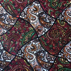 100% Cotton Paisley