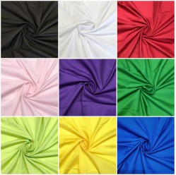 100% Cotton Poplin Plain