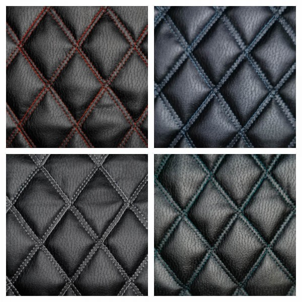 Quilted Faux Leather
