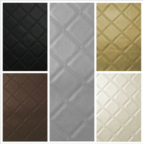 Trellis Leather Look